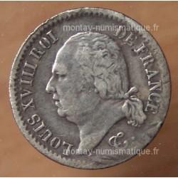 1/4 de Franc Louis XVIII 1817 I Limoges
