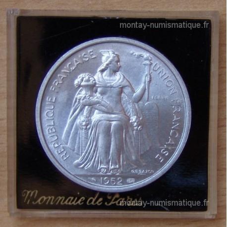 Océanie Française 5 Francs 1952 essai