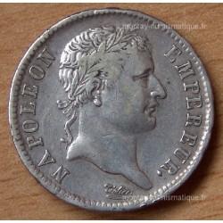 1 Franc Napoleon I République 1808 L Bayonne