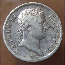 1 Franc Napoleon I République 1808 BB Strasbourg