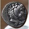 Macédoine Alexandre III Le Grand Tétradrachme 325AC Byblos, Phénicie.