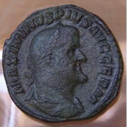 Maximin Ier Thrace Sesterce +236 +238 Rome