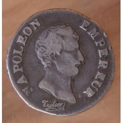 Quart de Franc Napoléon Empereur AN 13 T Nantes