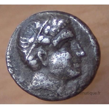 Macédoine Philippe III Arrhidée 1/5 eme de statére
