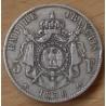 5 Francs Napoléon III Empereur 1856 A petit a