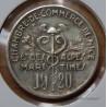 Nice (06) 5 Centimes 1920 argent (essai). Alpes-Maritimes.
