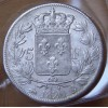 5 Francs Louis XVIII 1820 B Rouen