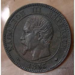 Deux centimes Napoléon III 1853 MA Marseille