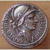Denier Fonteia 55 AC Rome - République Romaine
