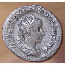 Gordien III Antoninien +239 Rome ROMAE AETERNAE