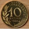 10 Centimes Marianne 1998 BE Belle Epreuve