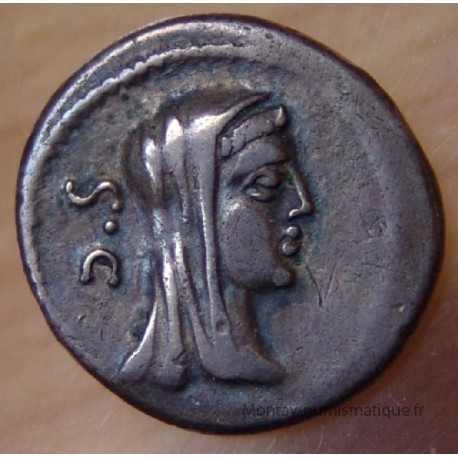 Denier Sulpicia 69 AC Rome