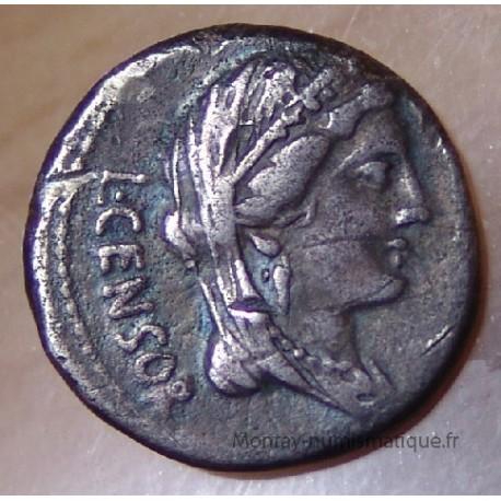 Denier Marcia 82 AC Rome