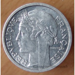 1 Franc Morlon Aluminium 1947