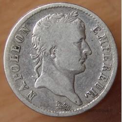 1 Franc Napoléon I 1813 W Lille