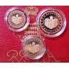 Monaco - Coffret 1, 2 et 5 cent 2005 BE