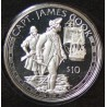 Îles Cook 10 dollar 1994 proof Capitaine James Cook