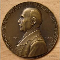 Médaille Philippe Pétain - Etat Français 1941