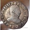 Henri III Demi Franc Col plat 1587 F Angers