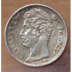1/4 de Franc Charles X 1829 W Lille