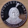 République d'HAITI 10 Gourdes 1971 Sitting Bull Sioux proof