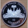 République d'HAITI 10 Gourdes 1971 Billy Bowlegs Seminole War proof