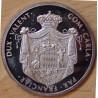 MONACO Médaille Prince Honoré V (1778 - 1841) ND ( 1975).