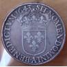 Louis XIII Ecu de 60 sols 1643 A point