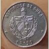 CUBA 1 Peso 1990 Départ du port de Palos
