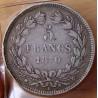 5 Francs Cérès sans légende 1870 K étoile 11h00