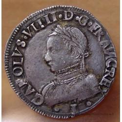 Charles IX Teston 1563 I Limoges