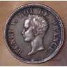 1/2 Franc Henri V 1833 buste juvénile argent