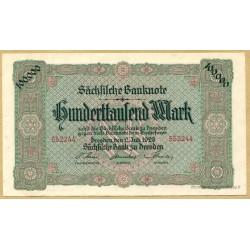 Allemagne - 100000 Mark 2 juillet 1923 Dresden