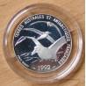 5 francs Albatros 1992 BE Terres Australes et Antarctiques Françaises