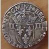 Henri III Quart Ecu 1582 T Nantes croix de face
