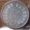 5 Francs Louis Philippe 1833 D Lyon