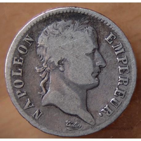 1 Franc Napoleon I 1813 D Lyon