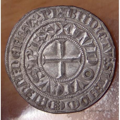 Louis IX Gros Tournois à l'étoile (1266-1270)