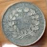 5 Francs Concours de Desboeufs 1848