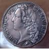 Louis XV 1/2 Ecu au bandeau 1767 D Lyon