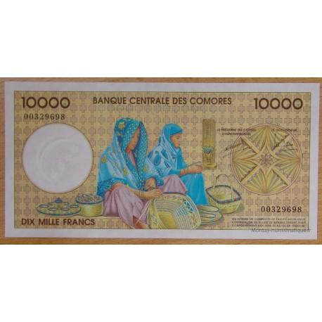Les Comores - 10000 Francs 1997 Banque Centrale des Comores