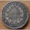 2 Francs Napoléon I revers Empire 1810 L à droite