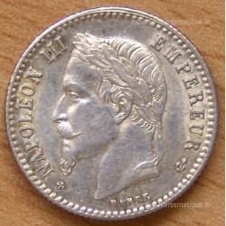 50 CENT. Napoléon III tête laurée 1869 BB
