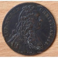 Jeton Louis XV Etats de Bourgogne 1740