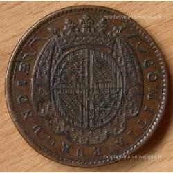 Jeton Etats de Bourgogne 1737 Le prince de Condé
