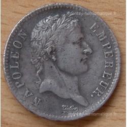 1 Franc Napoleon I République 1808 A