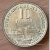 Djibouti 10 francs Côte françiase des Somalis 1965 essai