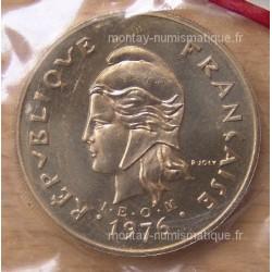 Nouvelle-Calédonie 100 Francs IEOM 1976 essai