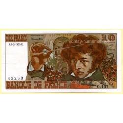 10 Francs Berlioz 6-2-1975 O.137