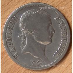2 Francs Napoléon I revers Empire 1812 A Paris